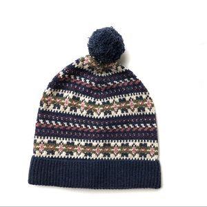 242a4e972a8 Polo by Ralph Lauren Accessories - Ralph Lauren patterned Knit Pom Beanie  Hat